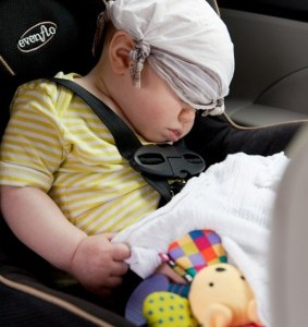 Child car seats recalled