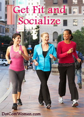 Exercise with friends - ideas to inspire
