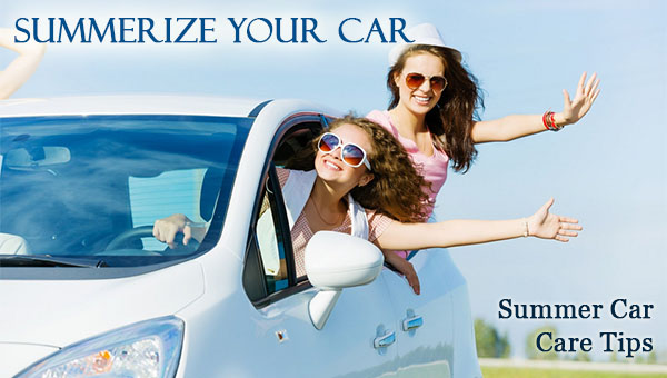 Summer Car Care Tips - Summerize Your Car