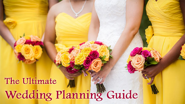 Yellow Wedding Colors - The Ultimate Wedding Planning Guide