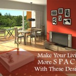 Make Your Living Room More Spacious With These Design Secrets