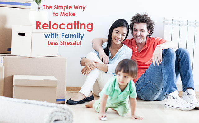 Make Relocating with Family Less Stressful