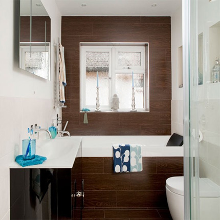 3 tips to get the most from a small bathroom space dot for Small bathroom natural
