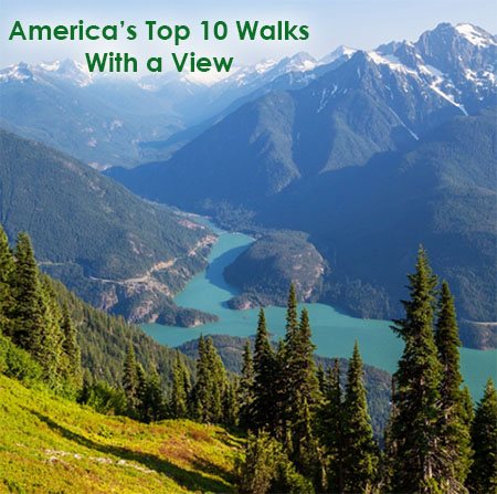 America's Top 10 Walks With a View