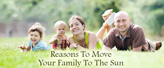 Compelling Reasons To Move Your Family To The Sun