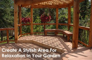 Create A Stylish Area For Relaxation In Your Garden