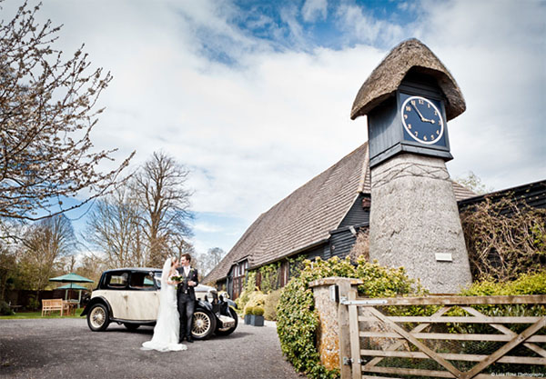 Clock Barn – Hampshire - The best UK venues for winter weddings