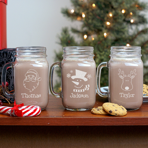 Personalized Mason Jars - Inexpensive Christmas Gift Ideas: Less Than $20 And Fabulous! - Dot