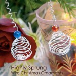 Highly Sprung - DIY Wire Christmas Ornaments