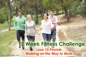 Lose 10 Pounds Walking on the Way to Work