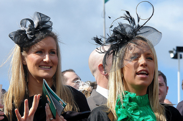 Fascinators at Aintree Grand National