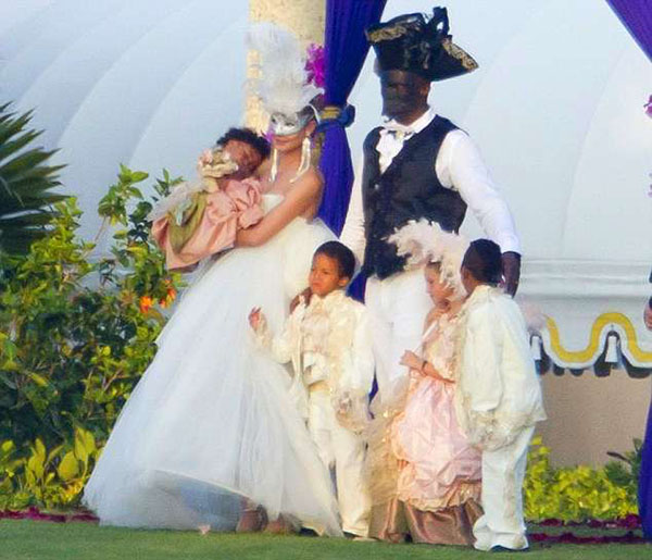 Celebrity Celebrations: Over the Top Themed Weddings of ...