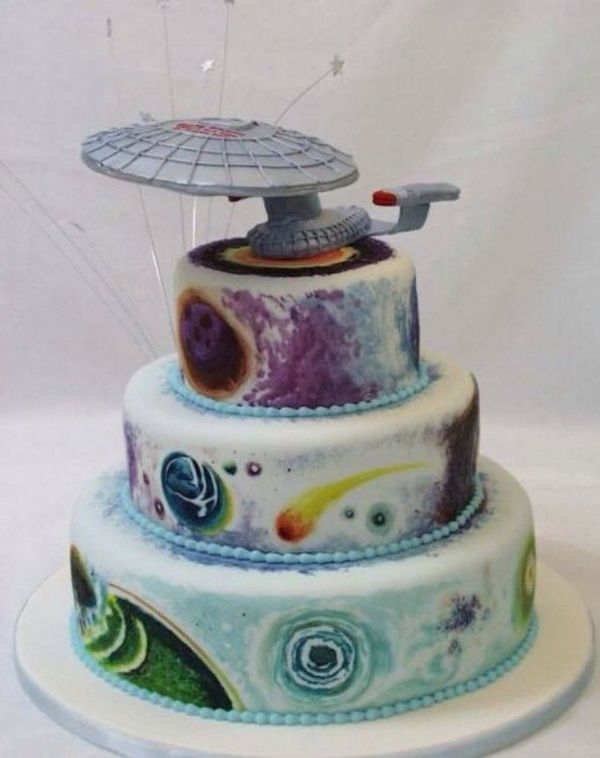 Outer Space Cake Design Of 5 Fun And Funky Themes For A Fantastic Los Angeles Wedding