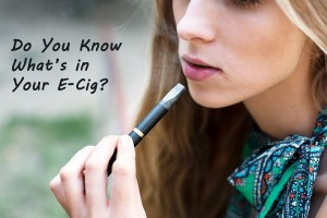 Do You Know What's in Your E-Cig?