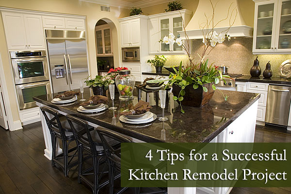 4 Tips for a Successful Kitchen Remodel Project