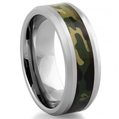 Camo Wedding Rings for Men