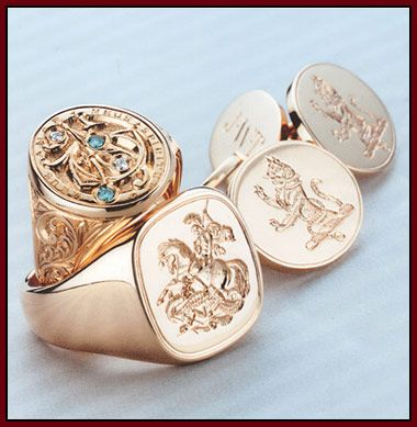 Signet Men's Wedding Rings