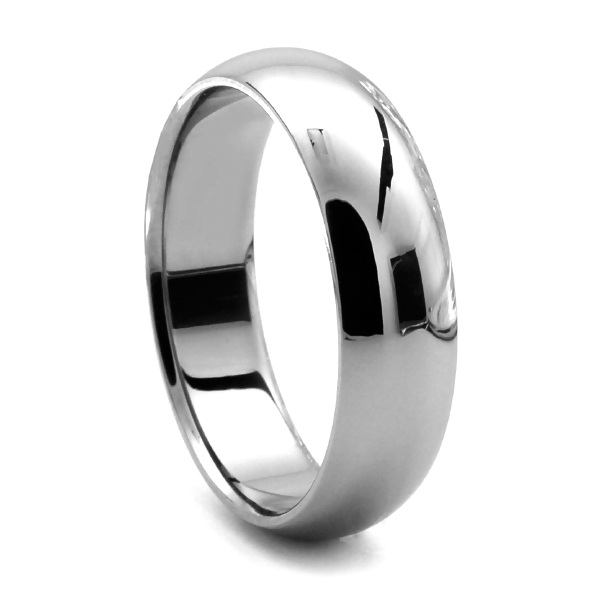 CLASSIC COMFORT FIT TUNGSTEN RING