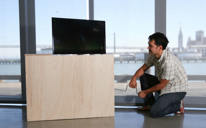 Customizing your TV lift