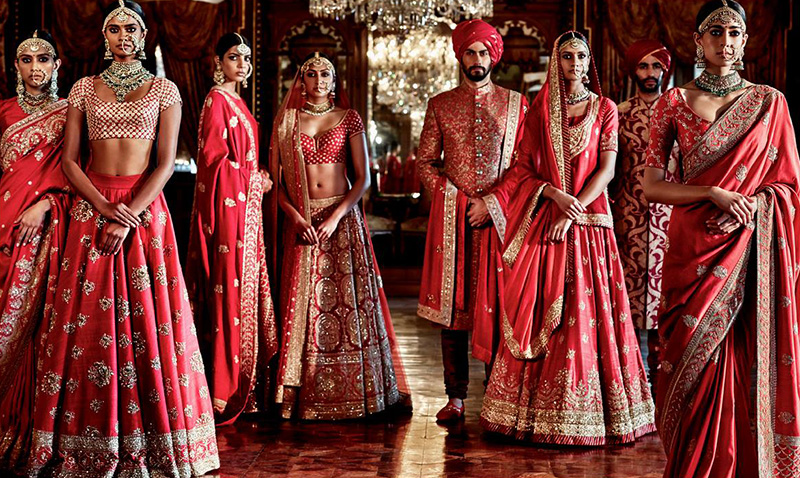 Dress Up Like A Desi Bridesmaid For Indian Wedding