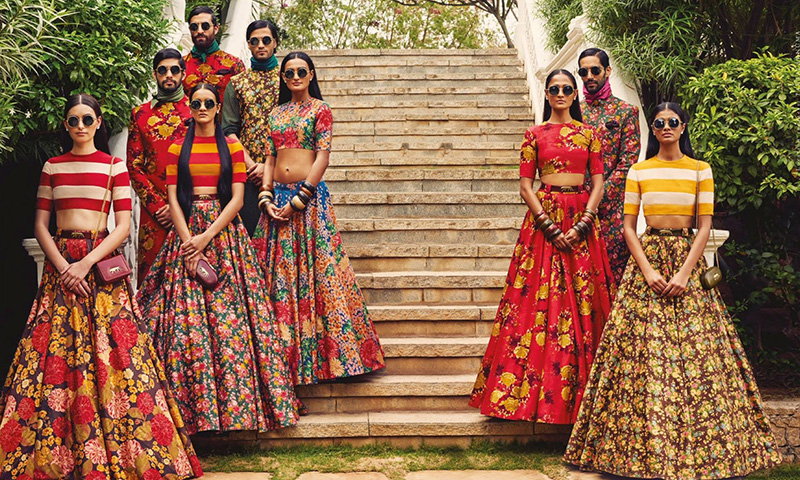 Indian Wedding Bridesmaids Dresses - Sabyasachi