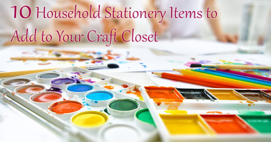 10 Household Stationery Items to Add to Your Craft Closet