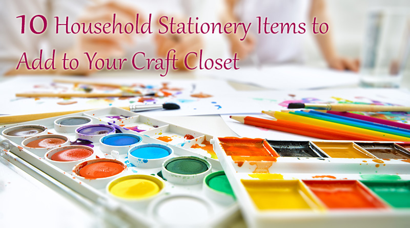 10 Household Stationery Items to Keep in Your Home Dot Com Women
