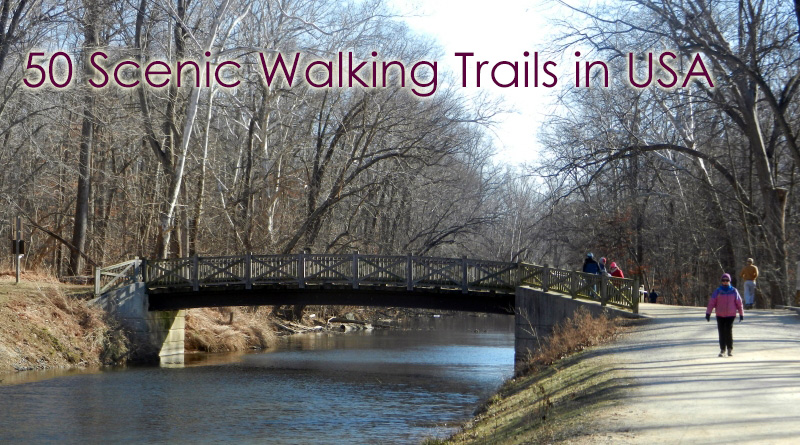 50 Scenic Walking Trails in USA