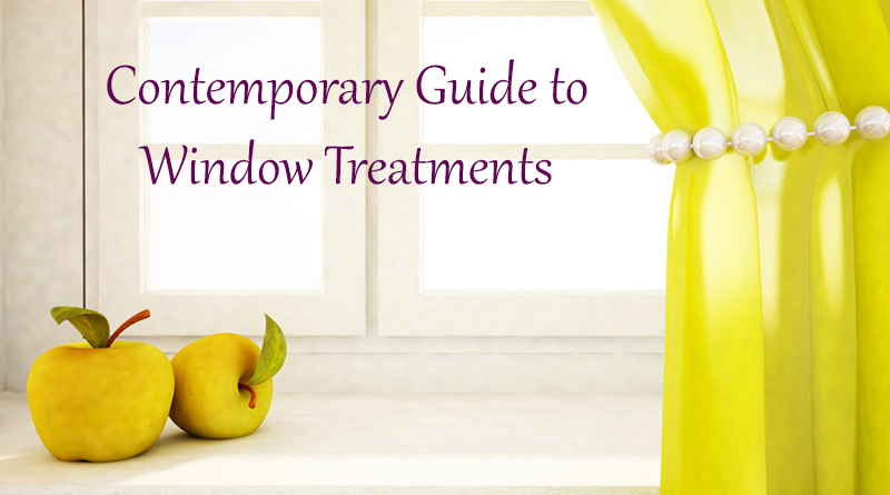 Contemporary Guide to Window Treatments