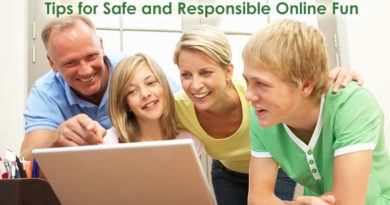3 Tips for Safe and Responsible Online Fun