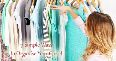 7 Simple Ways to Organise Your Closet