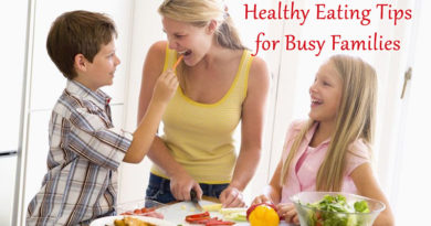 Healthy Eating Tips for Busy Families