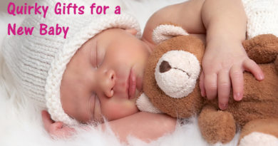 Quirky Gifts for a New Baby