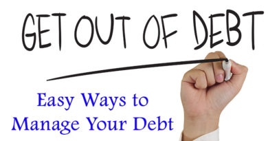 Easy Ways to Manage Your Debt