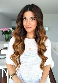 Mermaid Waves Hairstyle