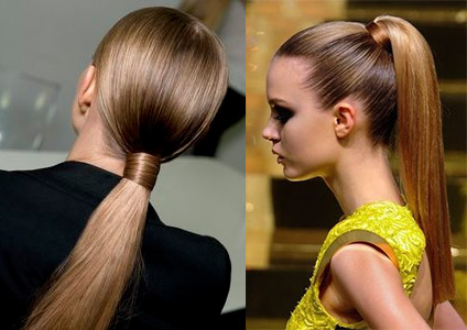 The Sleek Ponytail