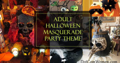 Adult Halloween Masquerade Party Theme