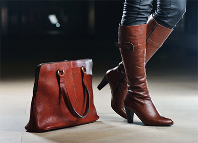 Leather Riding Boots (