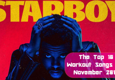 The Top 10 Workout Songs for November 2016
