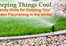 Keeping Things Cool: 5 Handy Hints for Keeping Your Garden Flourishing in the Winter