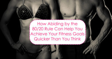 How abiding by the 80/20 rule can help you achieve your fitness goals quicker than you think