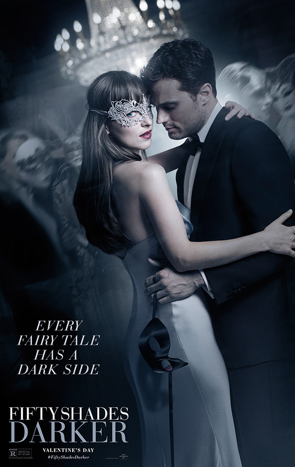 fifty shades darker - movie poster