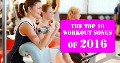 The Top 10 Workout Songs of 2016