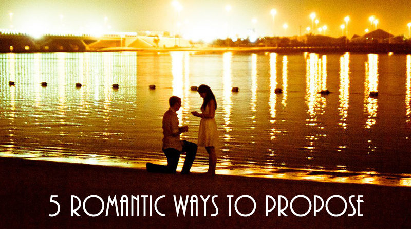 5 Romantic Ways to Propose This 2017