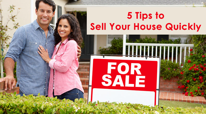 5 Tips to Sell Your House Quickly