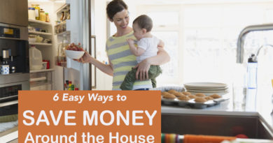 6 Easy Ways to Save Money Around the House
