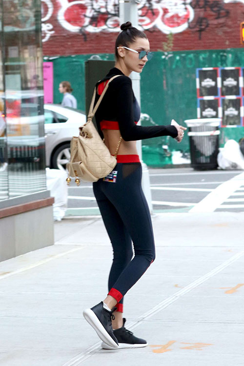 Bella Hadid's Chic and Comfy Sports Outfit