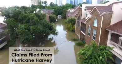 What You Need to Know About Claims Filed From Hurricane Harvey