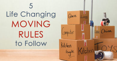 5 Life Changing Moving Rules to Follow