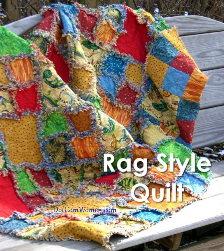 Rag Style Quilt Free Quilting Pattern Project Dot